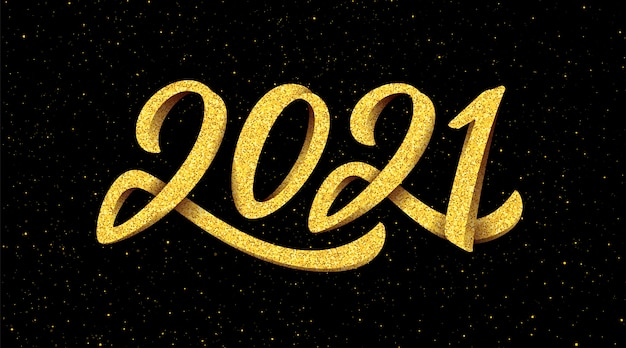Banner de año nuevo 2021