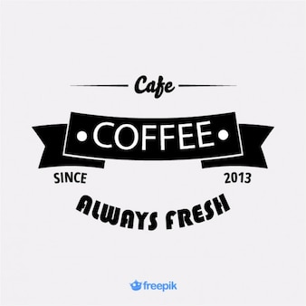 Banner antiguo de cafetería ii