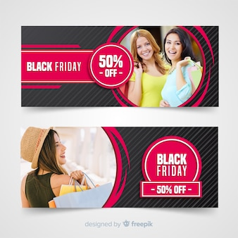 Banner black friday chicas