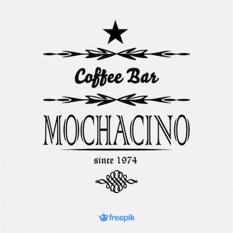 Banner de café bar mochacino