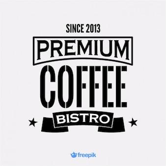 Banner de café bistro premium