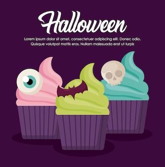 Banner de celebración de halloween