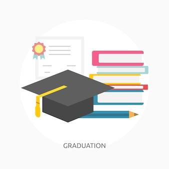 Banner conceptual de graduación