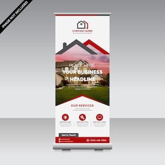 Banner corporativo enrollable premium