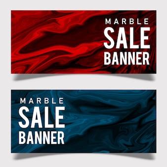 Banner de venta de mármol