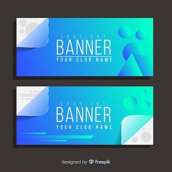 Banner degradado