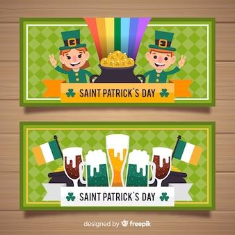 Banner del día de san patricio
