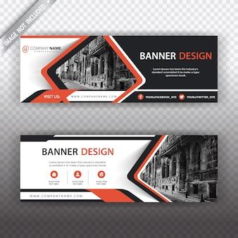 Banner con diseño creativo