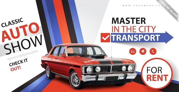 Banner especial de alquiler de coches