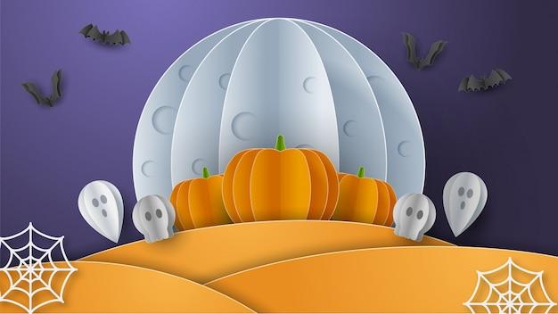 Banner feliz halloween