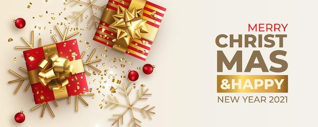Banner de feliz navidad