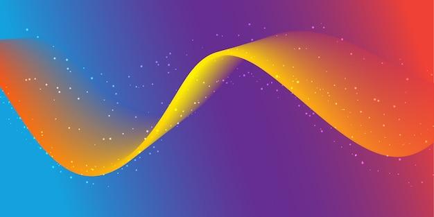 Banner de flujo abstracto