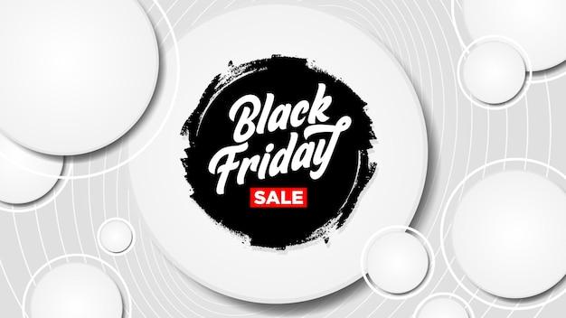 Banner de fondo de venta de viernes negro