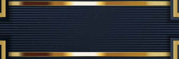 Banner forma lujo luz banner fondo