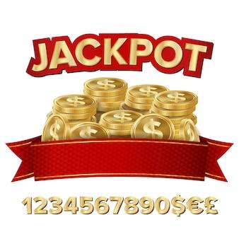 Banner de gran ganancia para el casino en línea