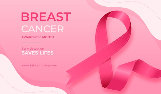 Banner del mes de concientización sobre el cáncer de mama