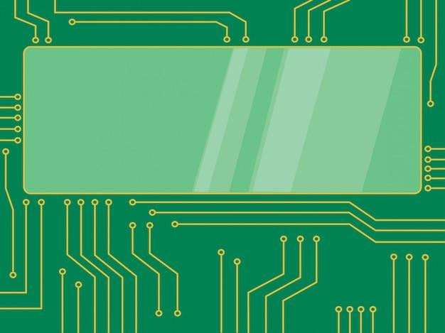 Banner de microchip