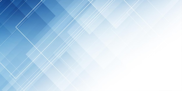 Banner moderno con un diseño abstracto de baja poli