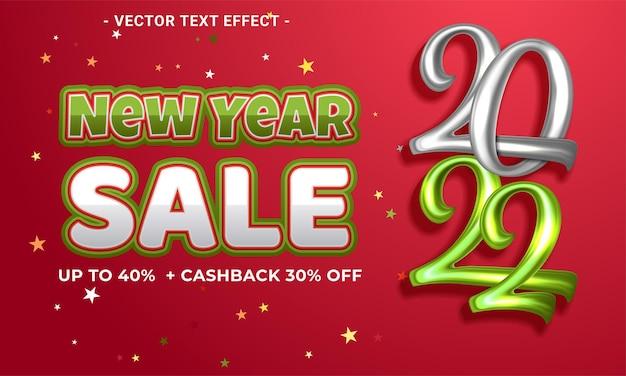 Banner de oferta especial de venta de año nuevo