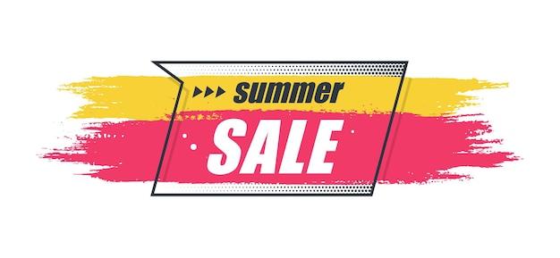 Banner original de promoción, fondo de ventas, etiqueta de precio. ilustración vectorial