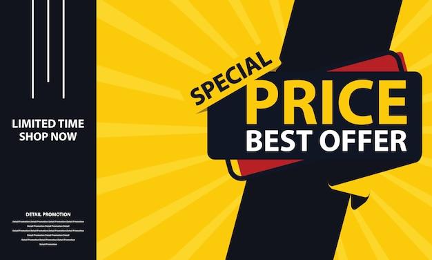 Banner de precio especial