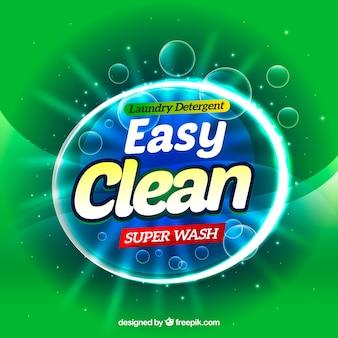 Banner para producto de limpieza