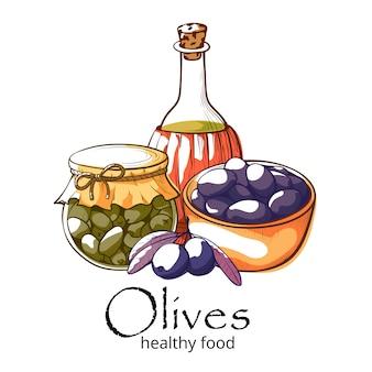 Banner de productos de oliva