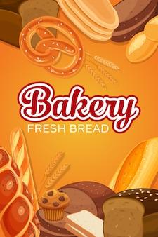 Banner de productos de pan