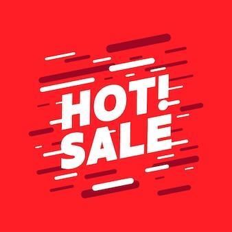 Banner de promoción de venta caliente