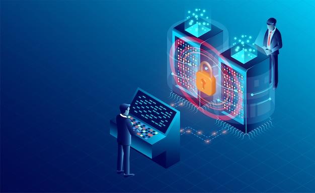Banner de protección de procesamiento de datos