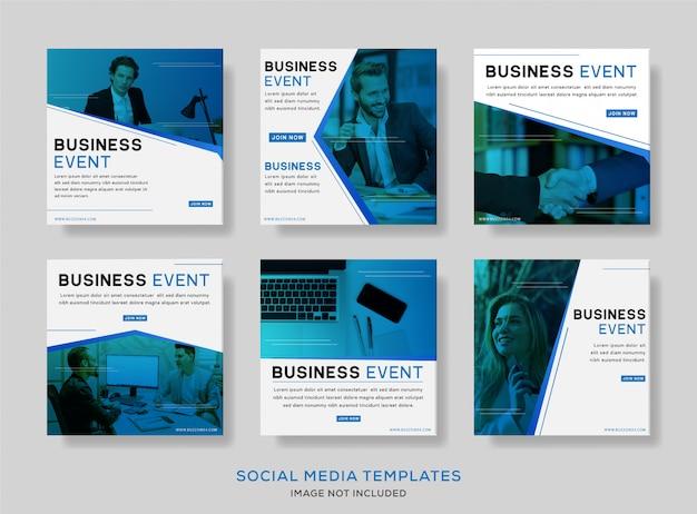 Banner de publicación de eventos sociales