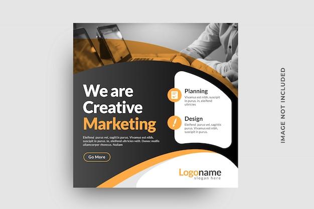 Banner de publicación de redes sociales de negocios