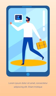 Banner publicidad seguridad control de aplicación móvil