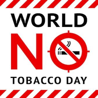 Banner público de no fumar
