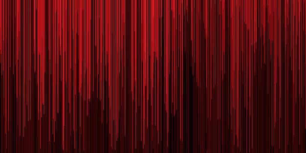 Banner rayado abstracto