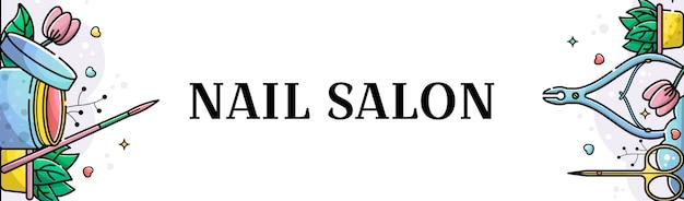 Banner para salon de uñas