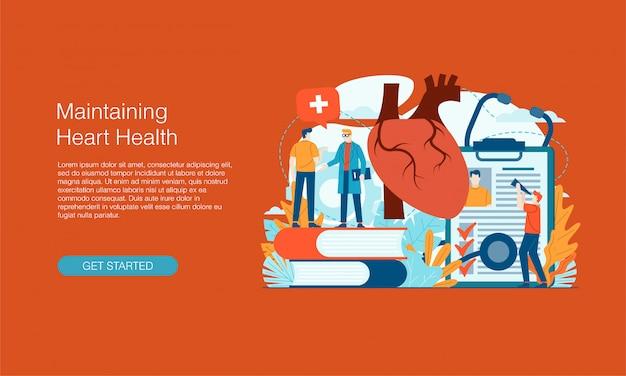 Banner de salud del corazón