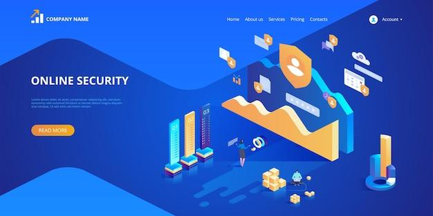 Banner de seguridad online