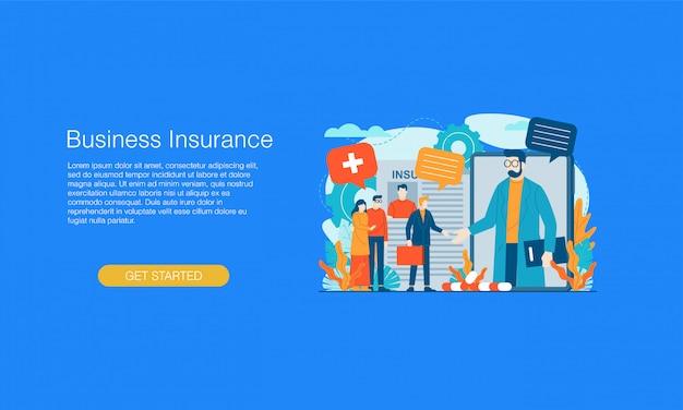 Banner de seguro comercial