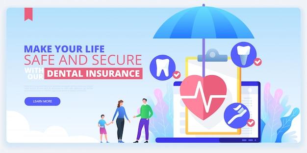 Banner de seguro dental