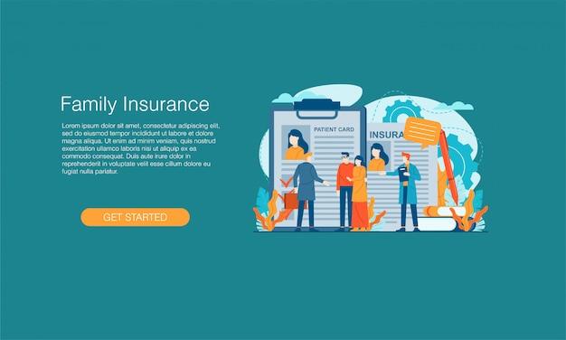 Banner de seguro familiar