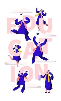 Banner de tipografía de motivación escolar de educación.
