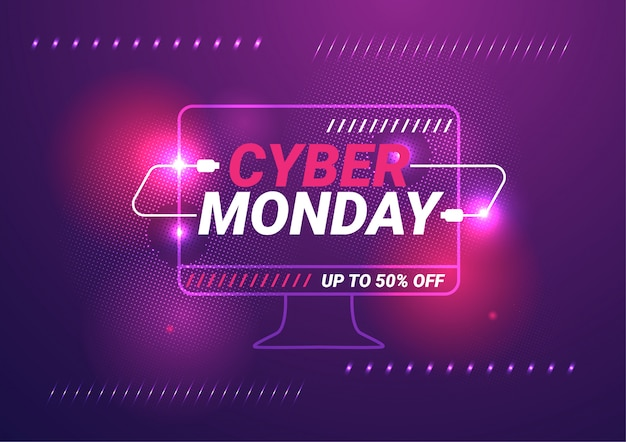 Banner de venta de ciber lunes