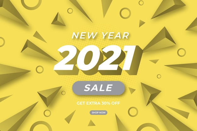 Banner de venta en colores grises brillantes y definitivos con oferta especial