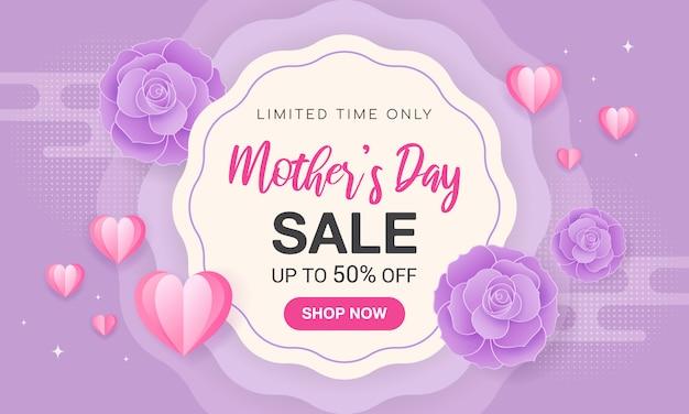 Banner de venta día de la madre.