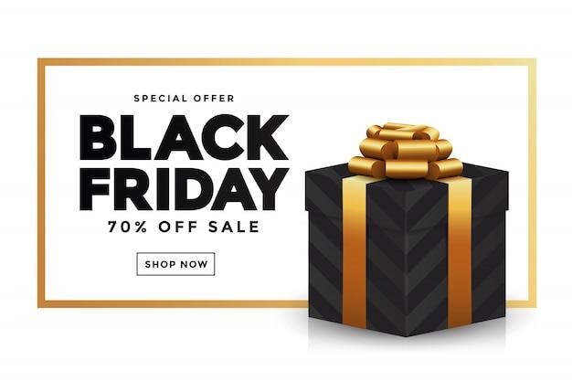 Banner de venta de viernes negro 2