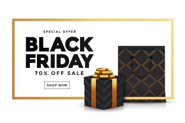 Banner de venta de viernes negro 3