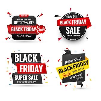 Banner de venta viernes negro
