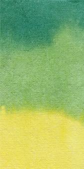Banner verde fondo acuarela