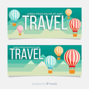 Banner de viajes